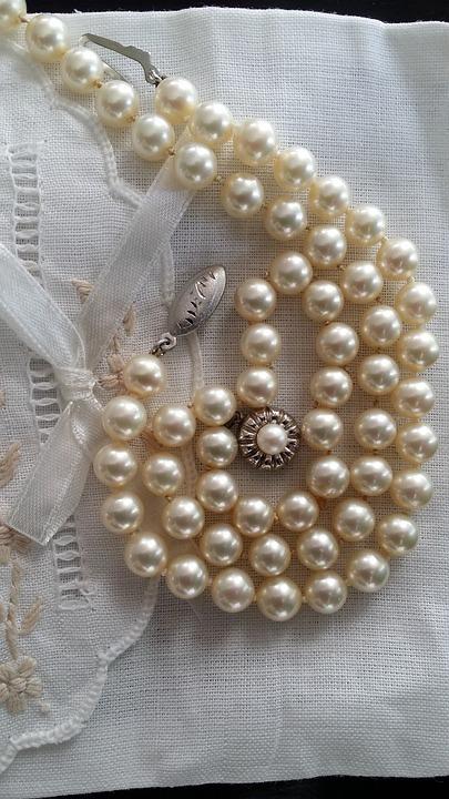 Pearls, Vintage, Jewelry, Old