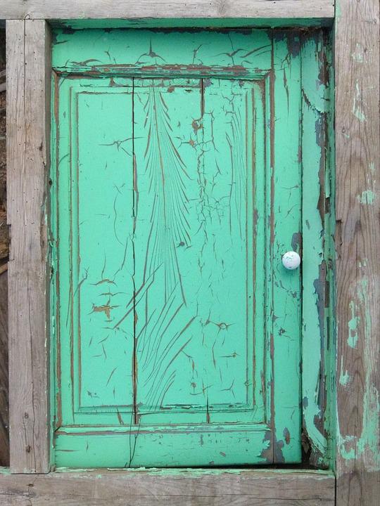 Window, Old, Peeling Paint, Texture, Abandoned, Vintage