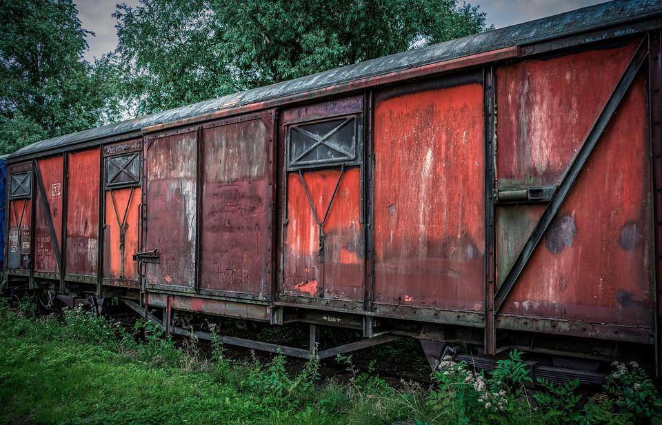 Train, Dare, Wagon, Old, Metal, Railway, Traffic