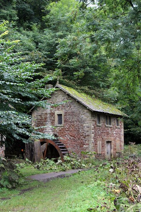 Water Mill, Old Mill, Old Water Mill, Water, Old, Mill