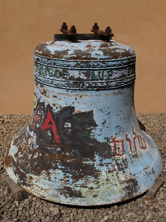 Bell, Peace Bell, Harmony, Old, Weathered, Faith