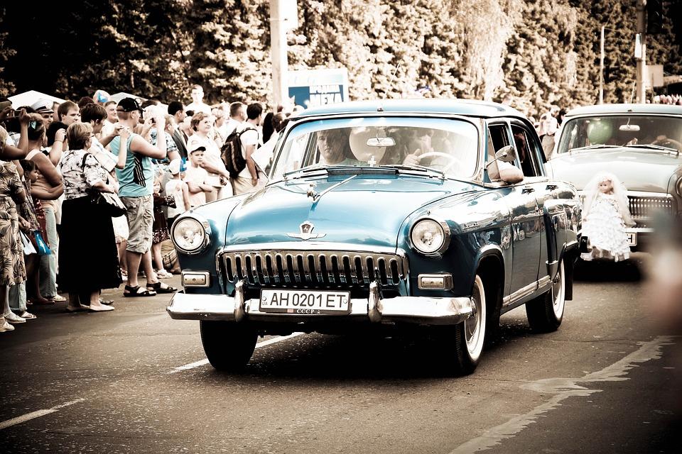 Auto, Machine, Wedding, Old