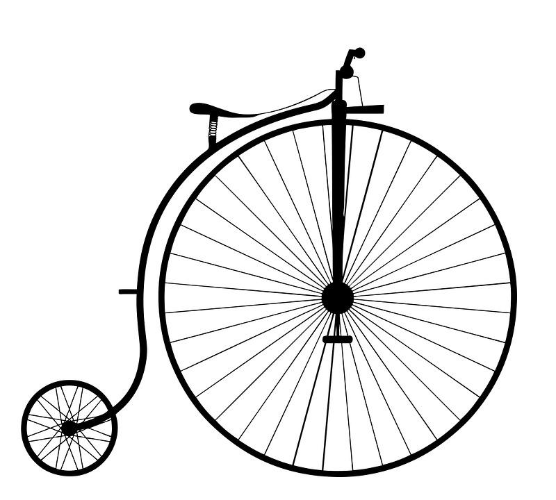 Penny Farthing, Bike, Bicycle, Old, Wheel, Vintage