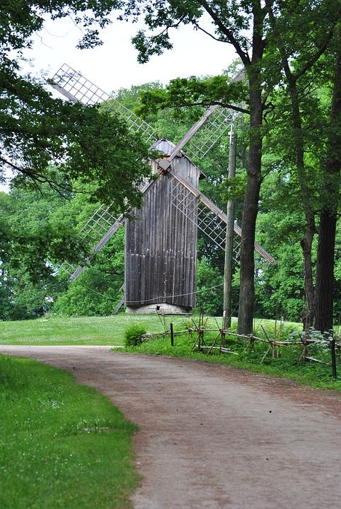 Windmill, Old Windmill, Mill