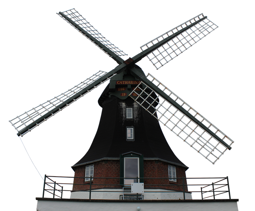 Mill, Windmill, Wing, Wood, Grind, Old, Dutch Windmill