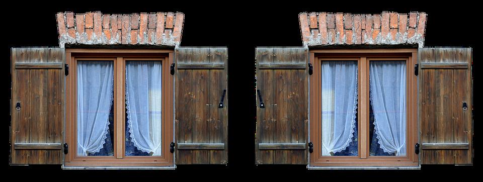 Window, Shutter, Facade, Shutters, Old, Wood
