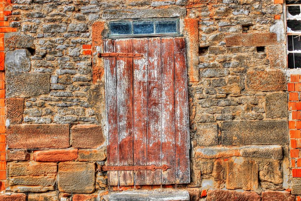 Scale, Old, Door, Wooden Door, Neglected, Window, Wood