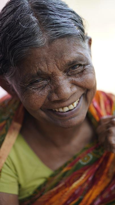 Old Woman, Smiling, Portrait, Happy, Smile, Face, Woman