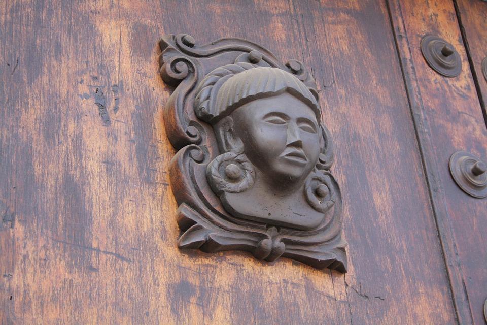 Door, Wood, Old