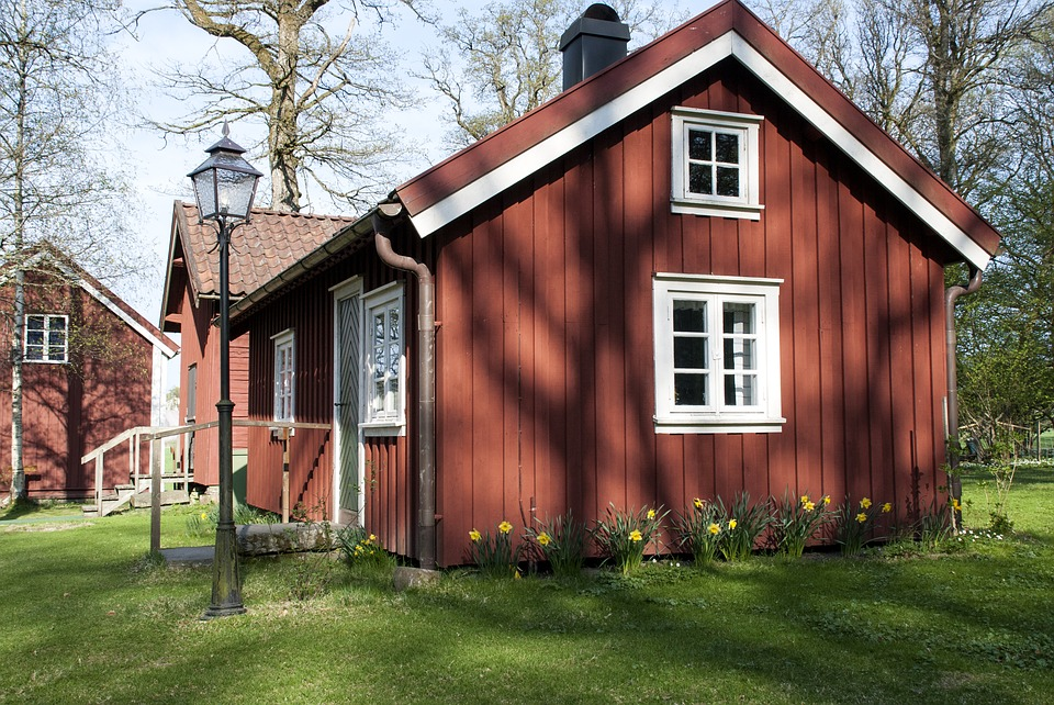House, Architecture, Wood, Red House, Old Wood