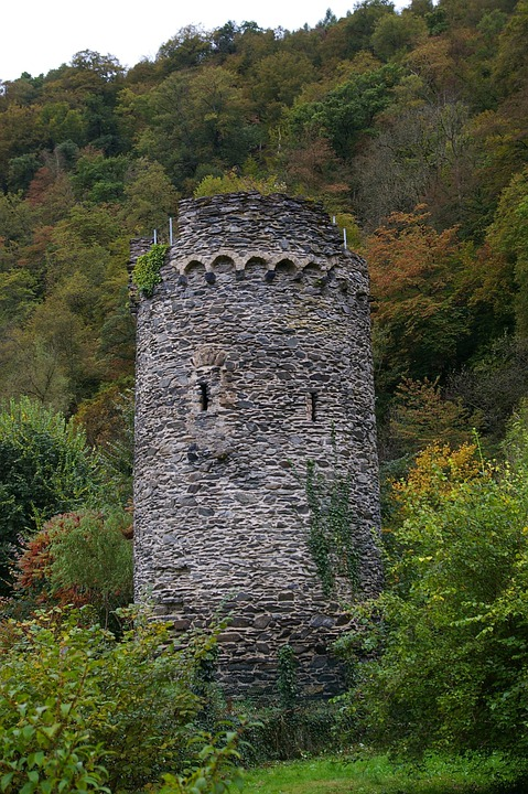 Watch Tower, German Countryside, Old World, Fortress