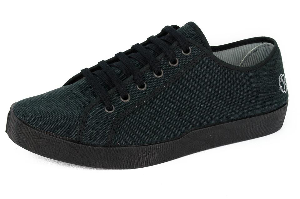 Shoe, Sneaker, Fashion, Oldroof, Black, Tarps