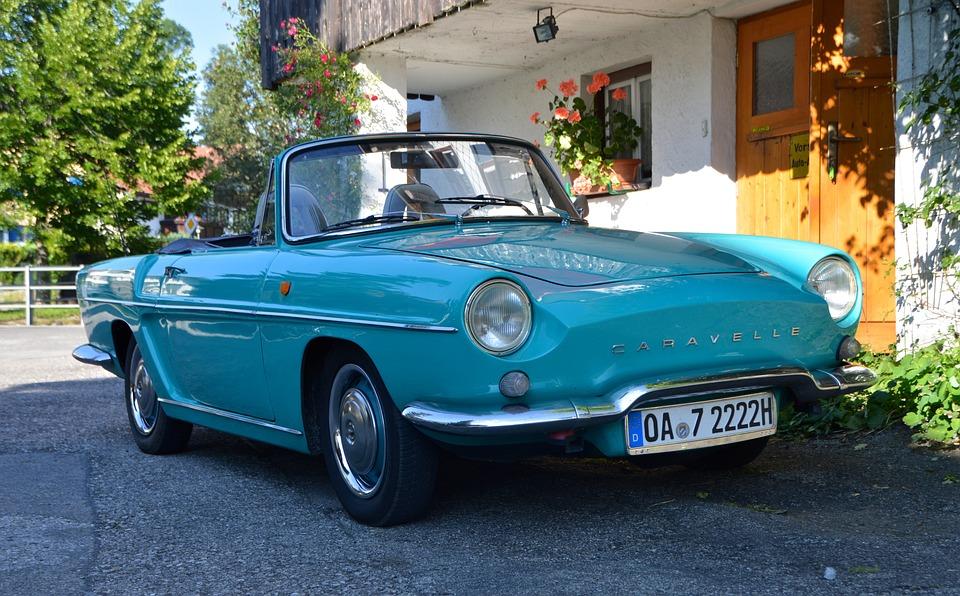 Oldtimer, Renault, Caravelle, Auto
