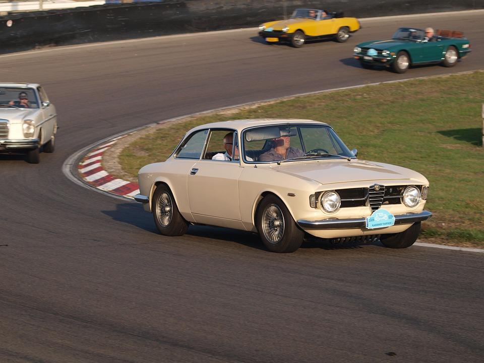 Alfa Romeo, Classic, Car, Oldtimer, Race, Circuit
