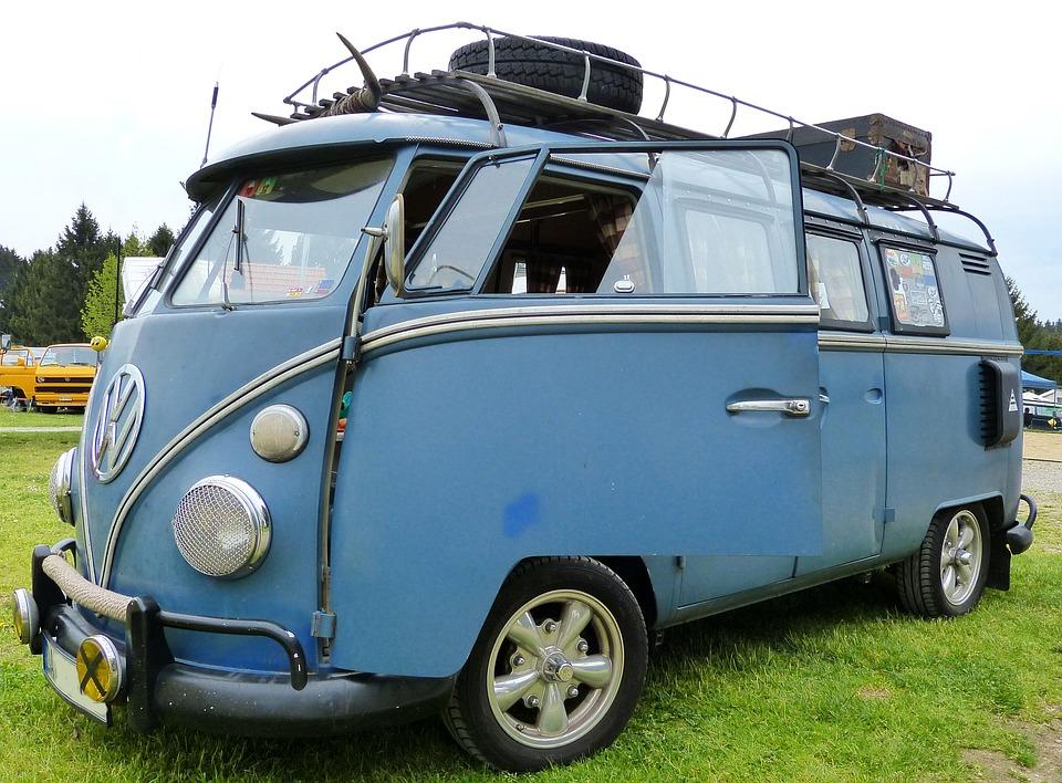 Vw Bus, Oldtimer, Cult Vehicle