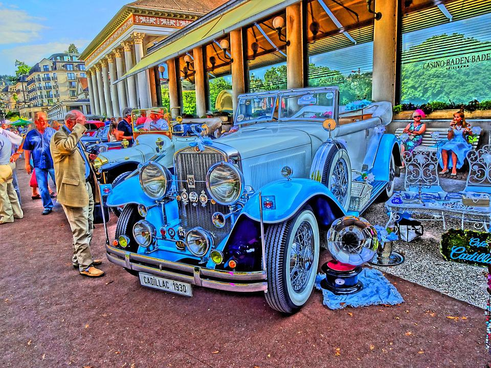 Oldtimer, Exhibition, Painting, Classic, Automotive