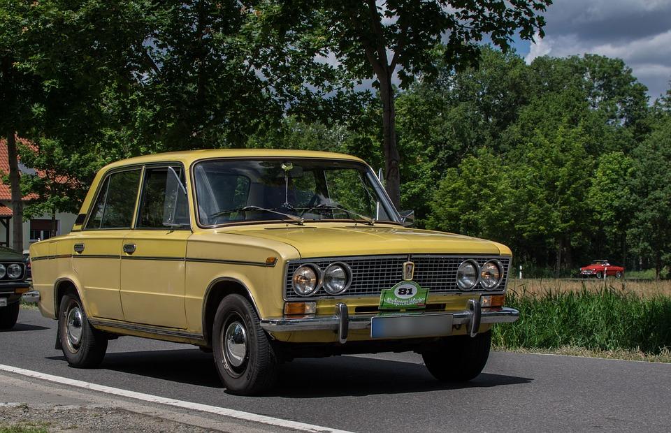 Auto, Lada, Oldtimer, Classic, Vehicle