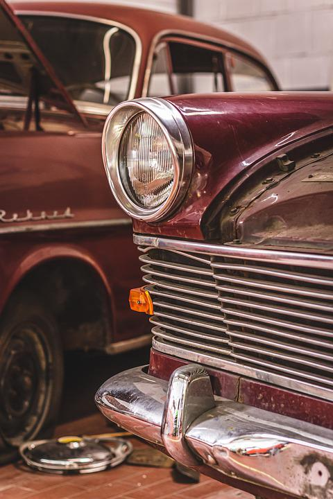 Opel, Olympia, Record, Grille, Oldtimer, Auto