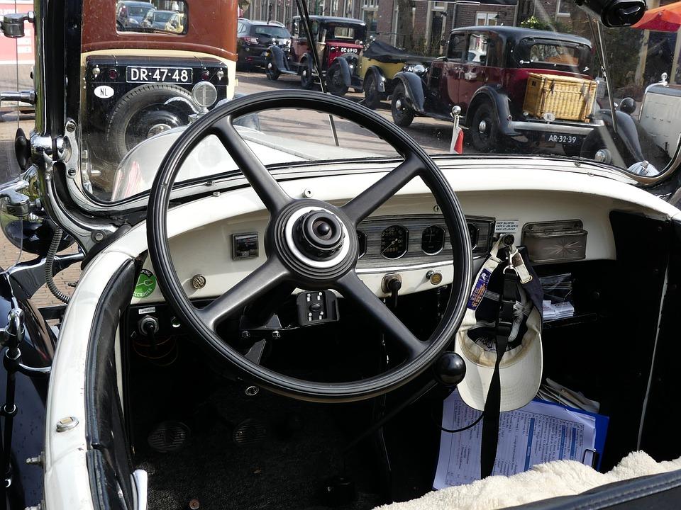 Car, Transport, Motor, Vehicle, Oldtimer, Cabriolet