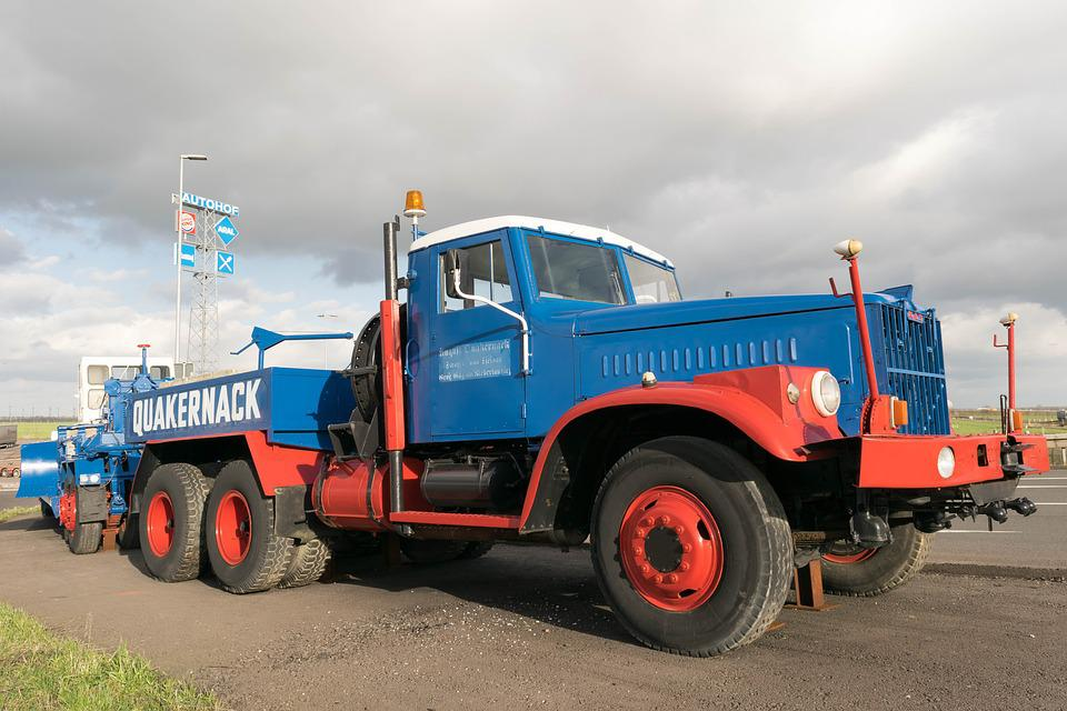 Truck, Oldtimer, Transport, Heavy Loads