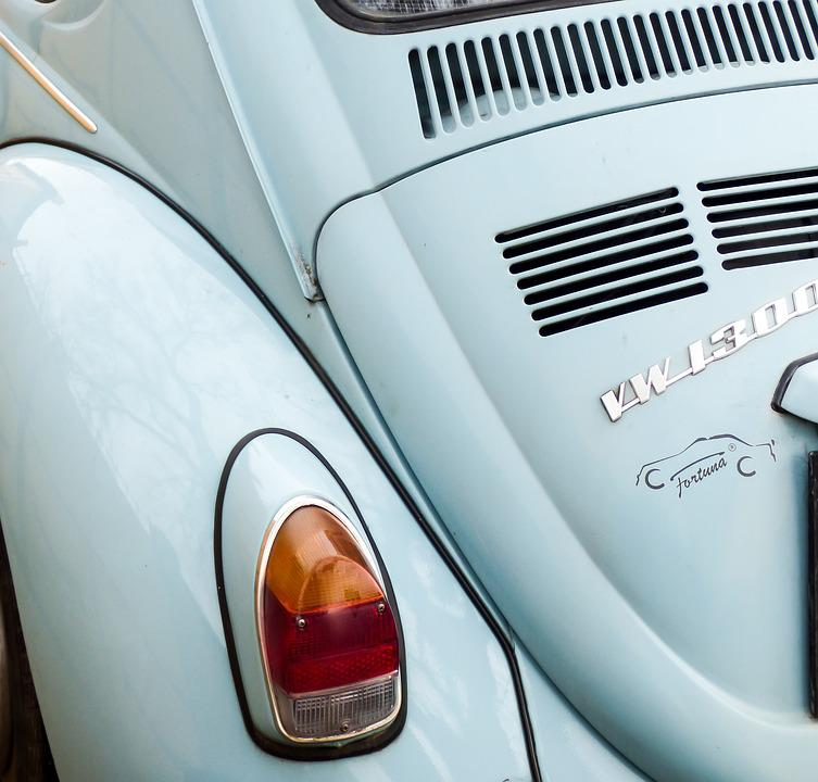 Car, Vehicle, Retro, Transport, Blue Car, Oldtimer