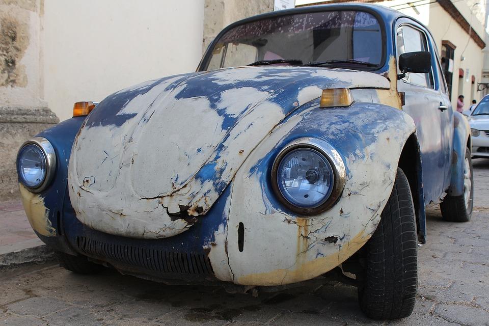 Beetle, Auto, Vw Beetle, Oldtimer, Vw, Volkswagen