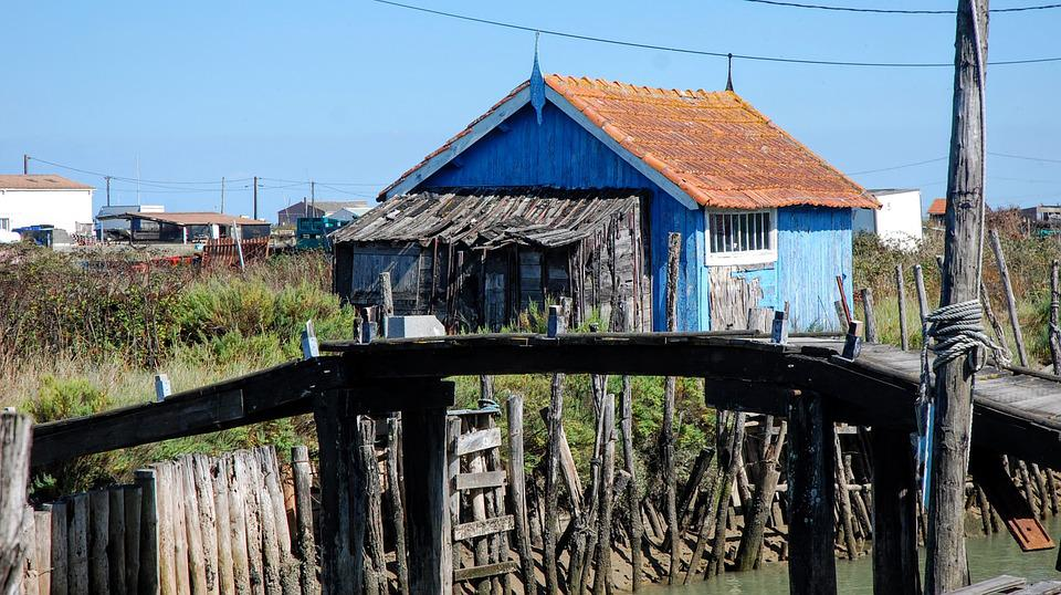 Island Of Oleron, Oléron, France, House, Fisherman