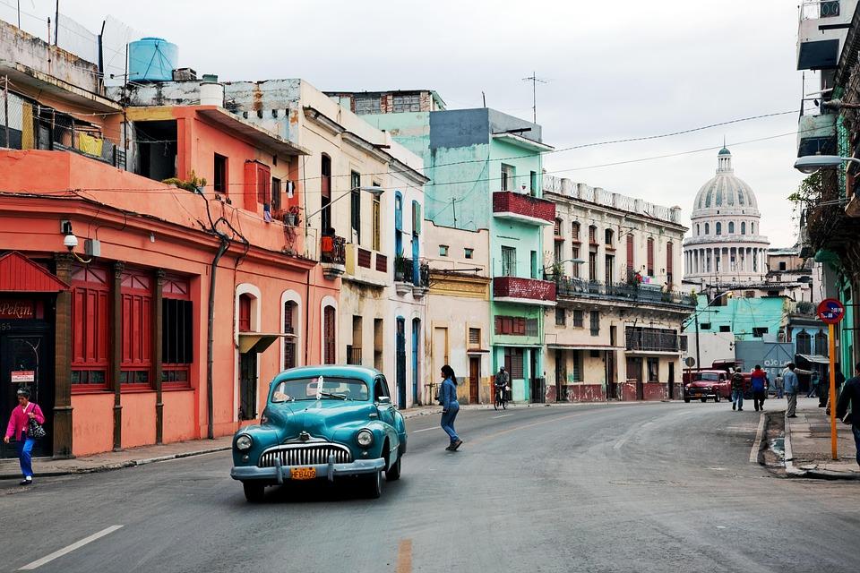 Cuba, Oltimer, Havana, Old Car, Classic, Old, Auto