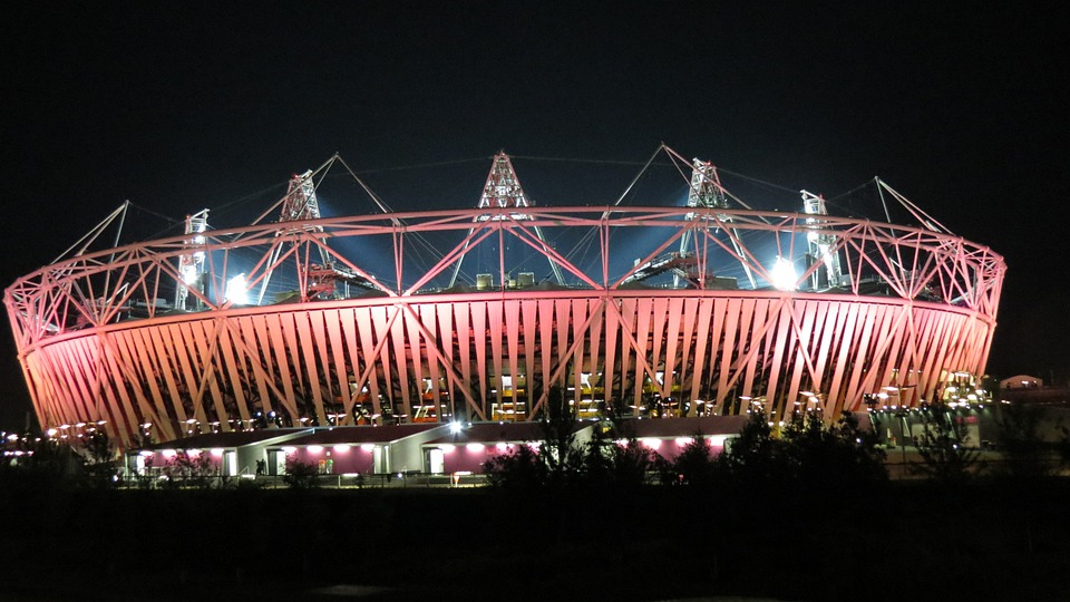 London, Olympics, Olympic Games, Olympic Stadium, Pink