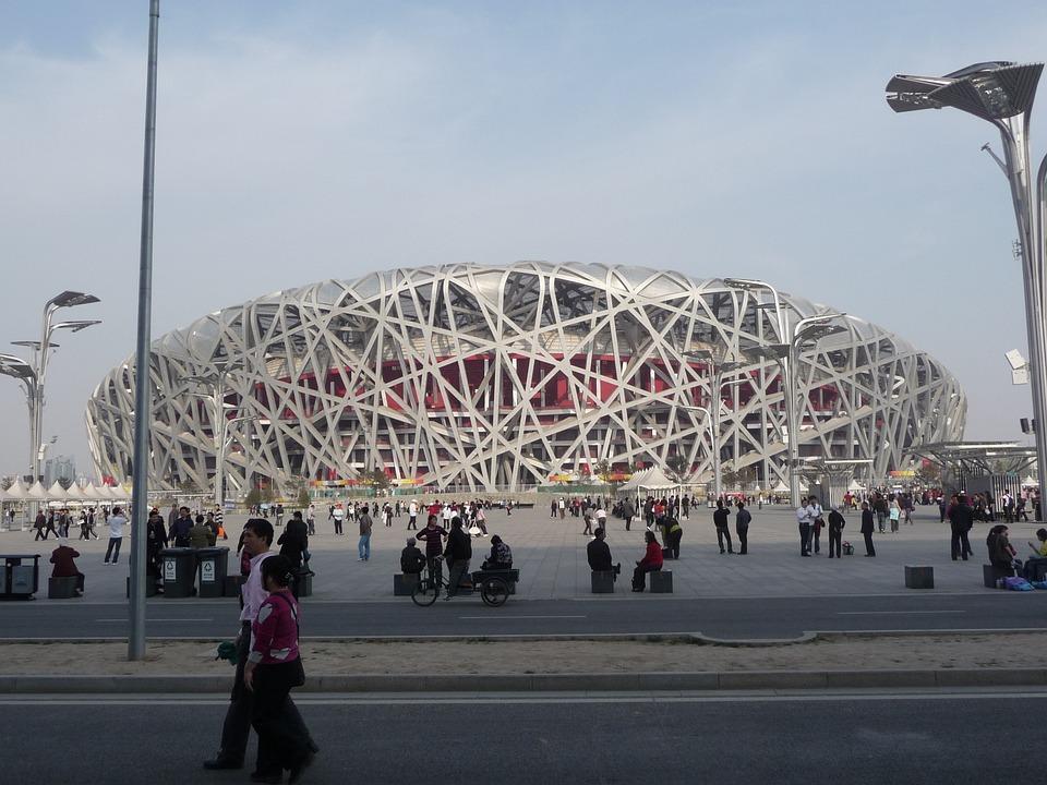 Stadium, Bird's Nest, Beijing, Olympics, Landmark