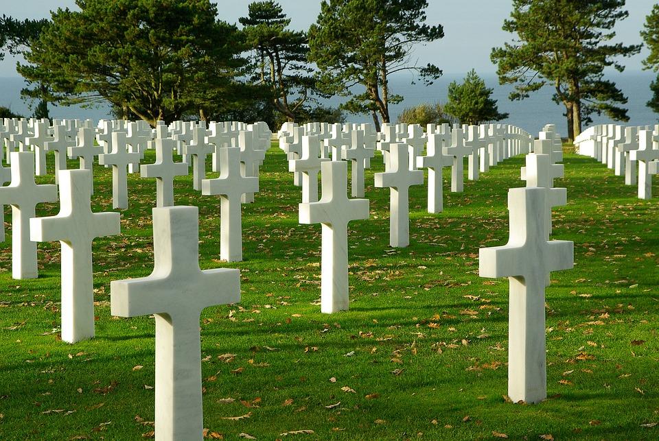 Normandy, D Day, Cemetery, Omaha Beach