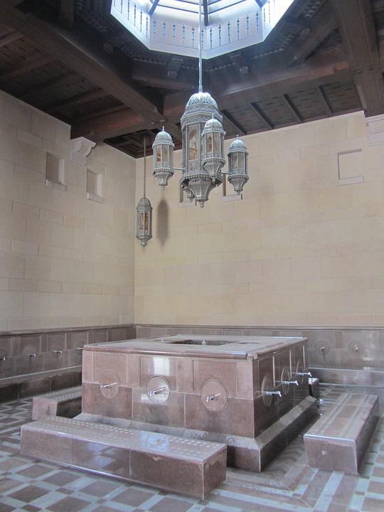 Mosquee, Oman, Bathroom