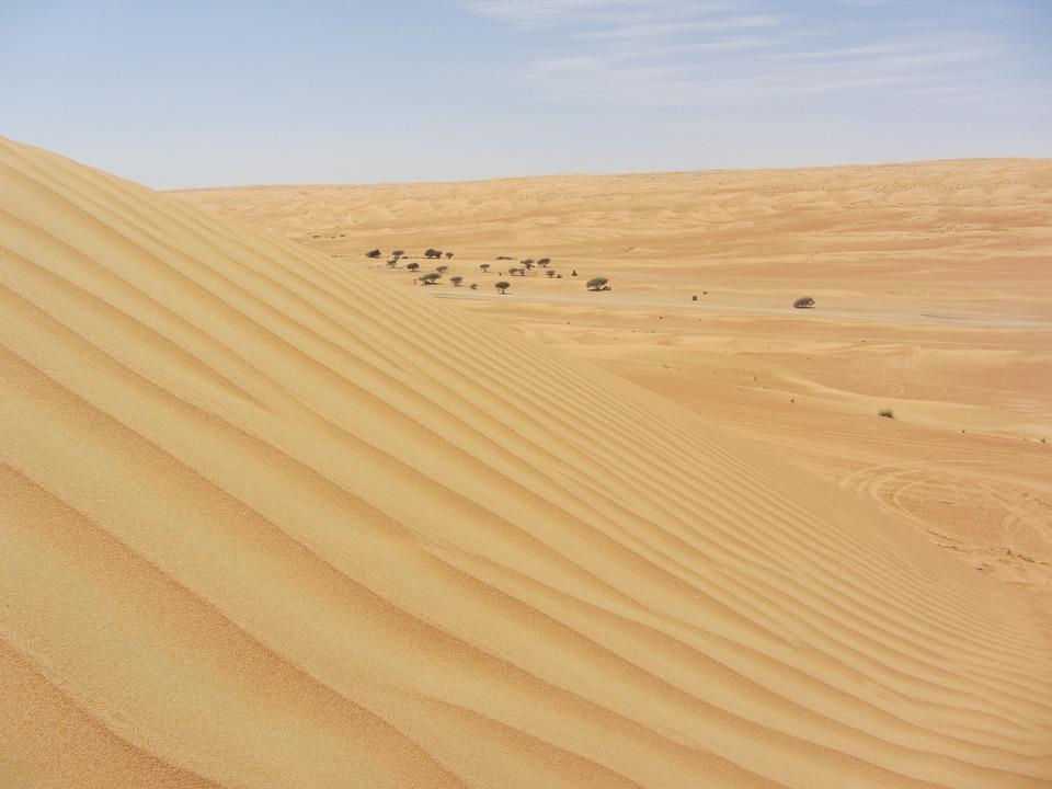 Desert, Oman, Sand