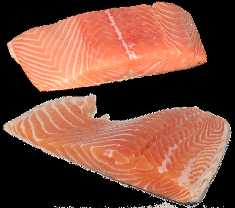 Fish, Salmon, Fillet, Omega-3, Omega-6, Vitamins