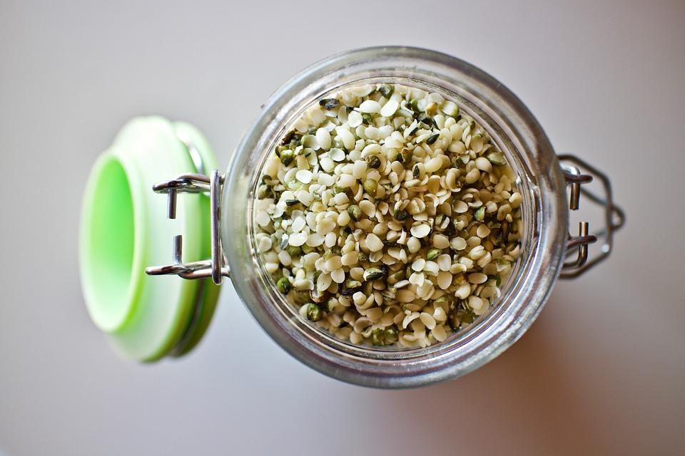 Hemp Seeds, Hemp Seeds Shelled, Seeds, Health, Omega3