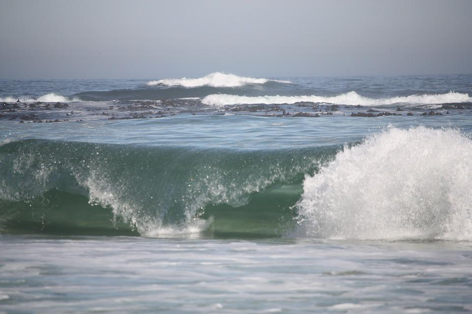Onda, Ocean, Blue, Sea, Nature, Costa, Water, Billow