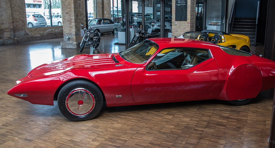 Auto, Pontiac, One, Design, Vehicle, Transport System