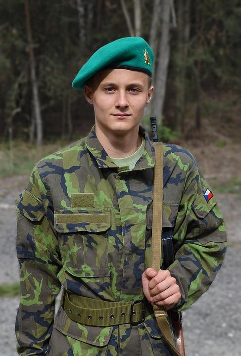 One, Man, Soldier, Boy
