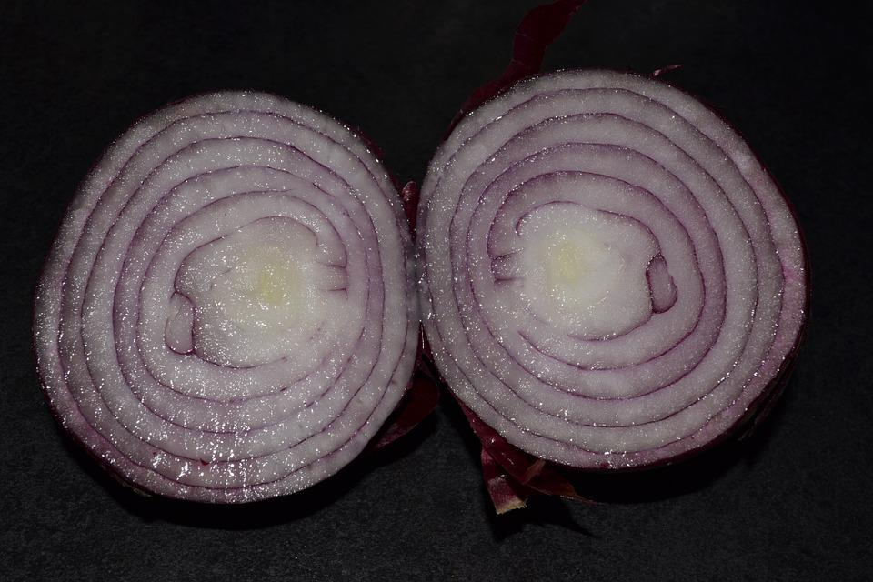 Red Onion, Food, Vegetable, Onion, Eating, Vegetarian