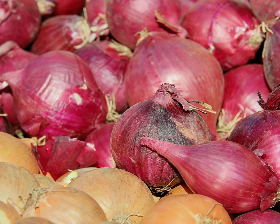 Red Shallots, Noble Onion, Onion, Sharp, Vegetables
