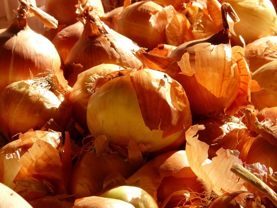 Onion, Vegetables, Food, Market, Allium Cepa, Onions