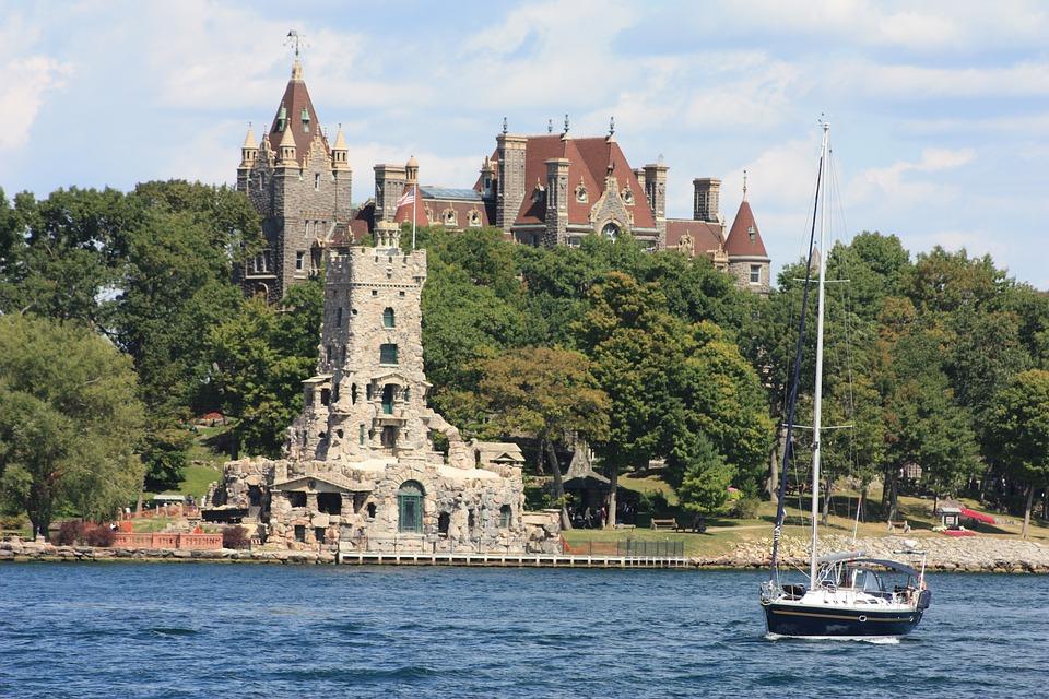 Heart Island, Boldt Castle, Lake, Ontario