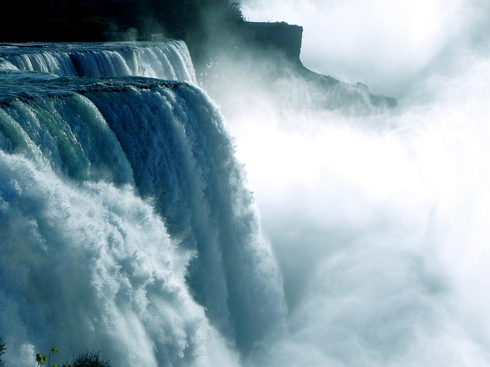 Niagara Falls, Waterfall, Water Power, Water, Ontario