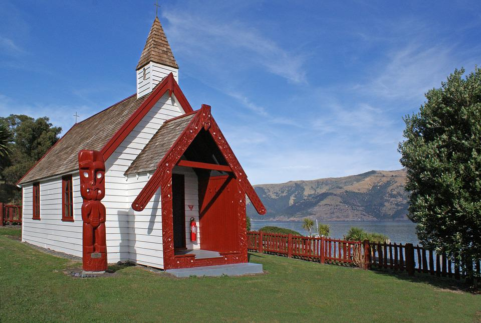 Onuku Church, Akaroa, New Zealand