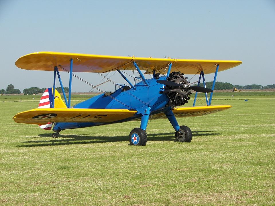 Aircraft, Boeing, A75n1, Stearman, N97x, Oostwold