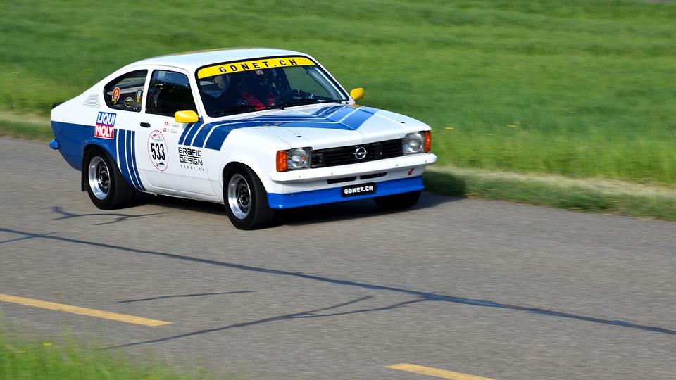 Oldtimer, Hillclimb, Sports Car, Opel Kadett Gte St