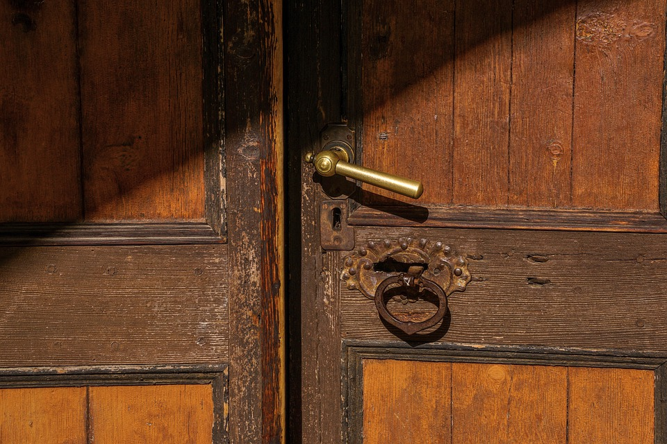 Door, Open, Enter, Door Opening, Input, Decision, Goal