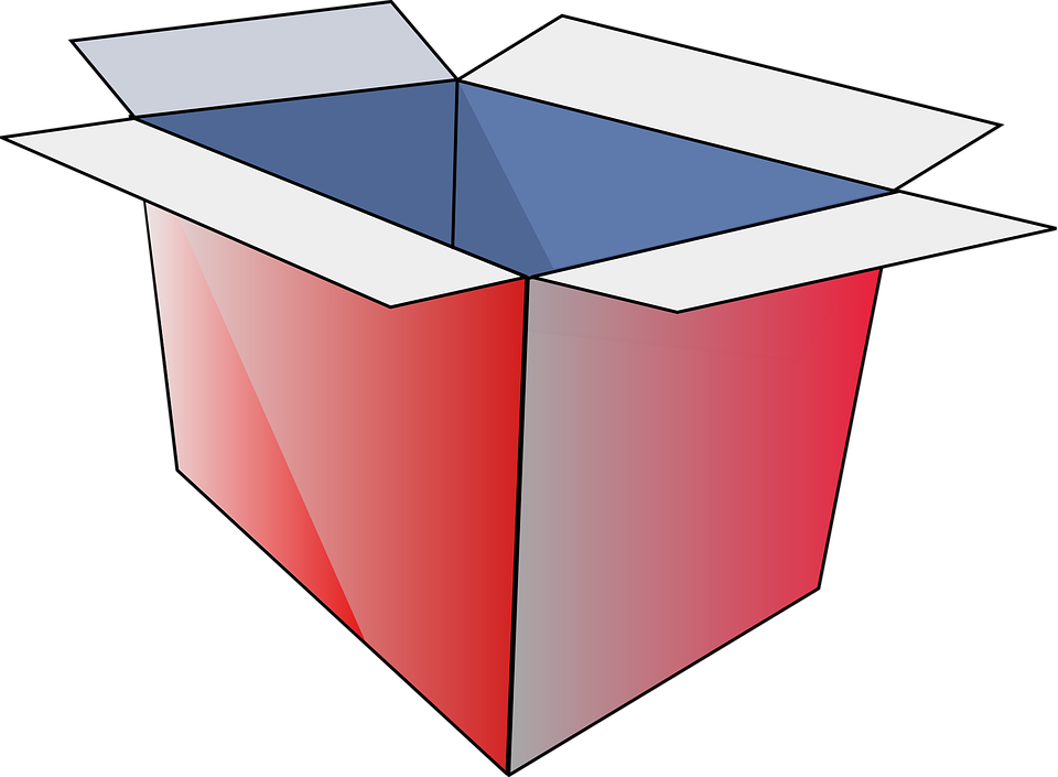 Box, Open, Cardboard, Red, Package, Parcel, Gift