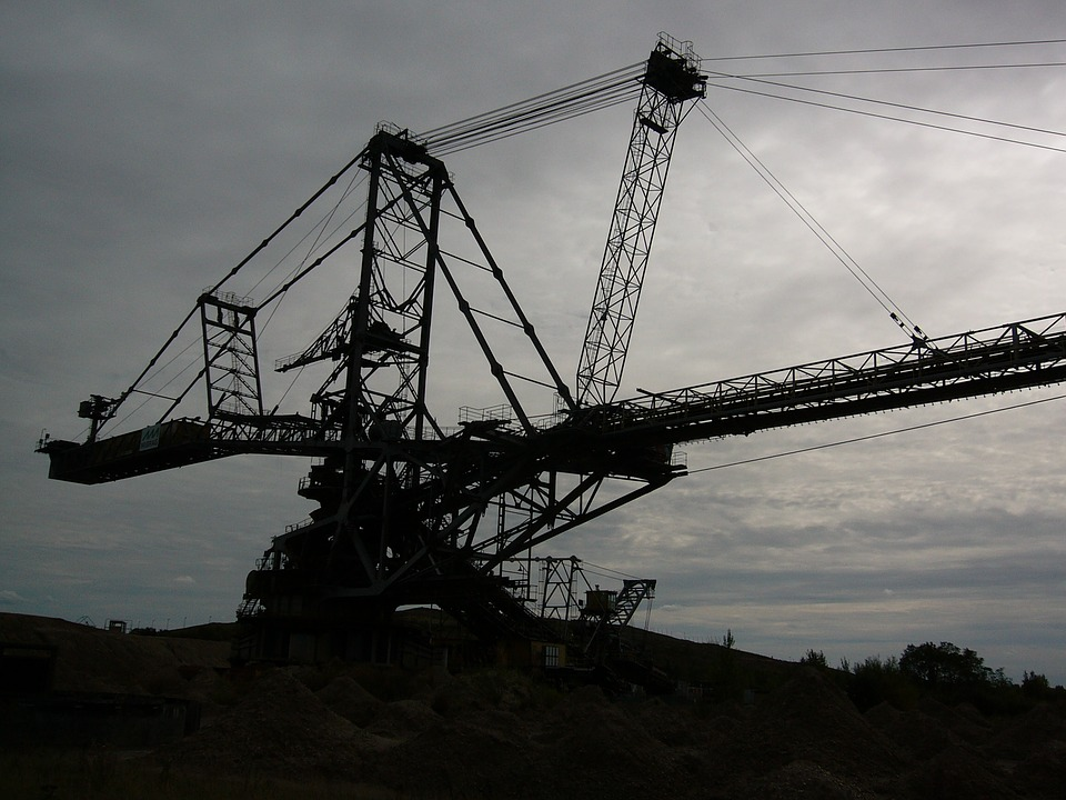 Open Pit Mining, Excavators, Industry