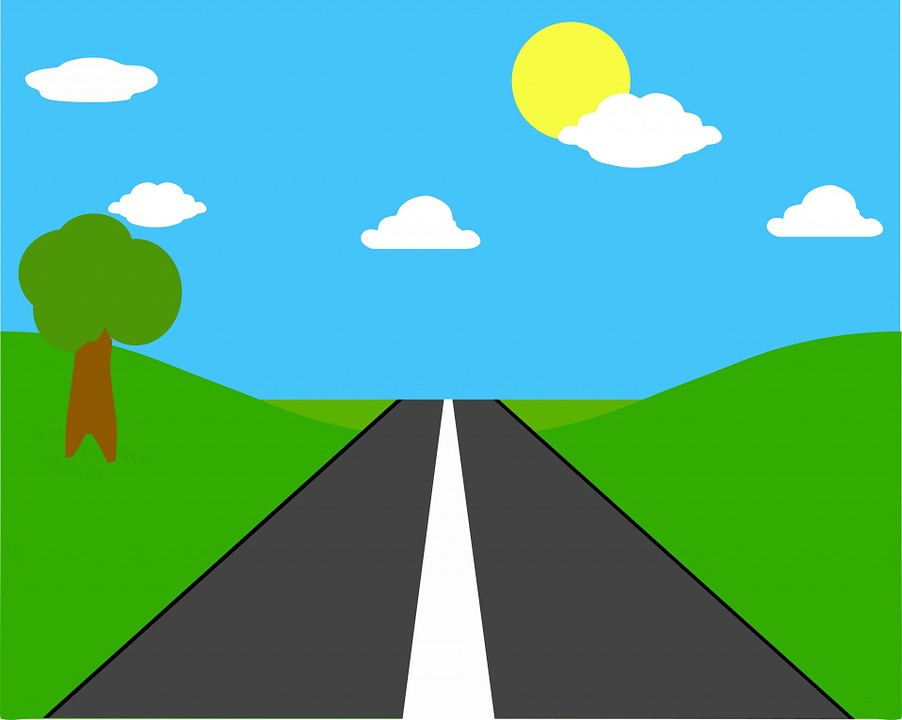 Road, Straight, Long, Open, Tarmac, Countryside, Rural